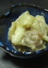 旬の野菜を使った酢味噌和え
