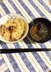 【晩酌仕立】松茸御飯とじゅんさい梅汁 by 角田食堂