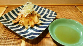 イカの味噌焼き