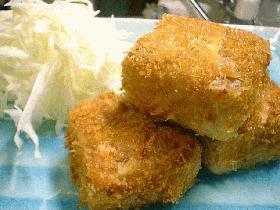 焼き豆腐カツ
