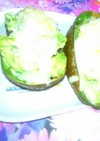 アボカドのチーズホットサラダ
