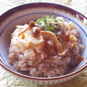 遊月亭しじみの力レシピ☆炊き込みごはん