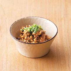 さばみそ納豆