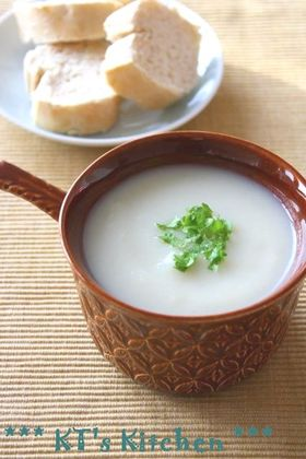 菊芋のクリーミーポタージュ