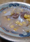 肉団子とコーンと白菜のクリーム煮