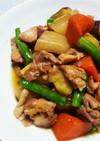 簡単計量☆鶏と根菜の煮物(圧力鍋使用)