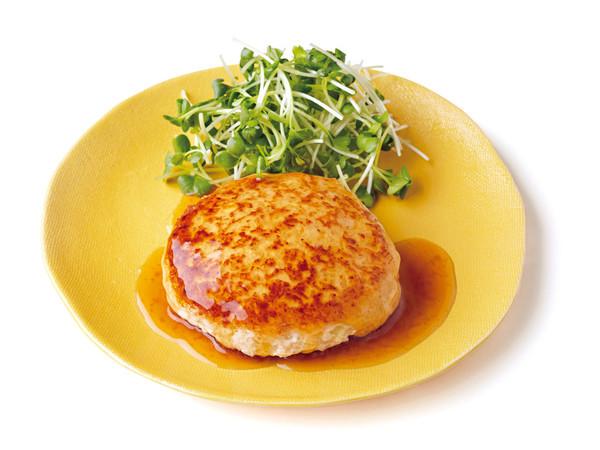 和風しょうがソース 豆腐ハンバーグ