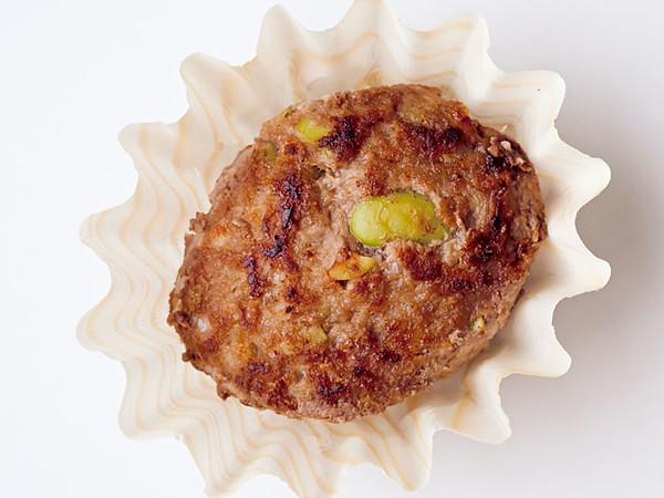 枝豆入りミニハンバーグ
