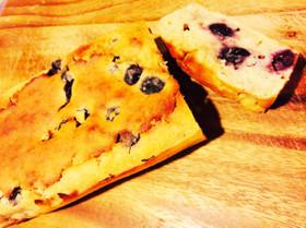 低糖質ブルーベリーパウンドケーキ
