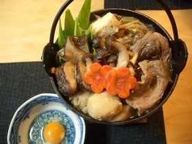 お肉がトロトロ☆いのぶた鍋