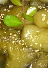 茄子の生姜糖煮。