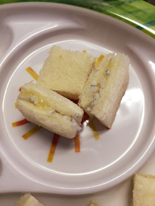 手づかみ離乳食☆サンドイッチ