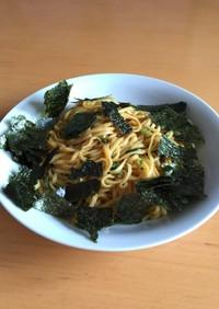 ずぼら飯!日清ラ王(味噌)で簡単まぜ麺☆