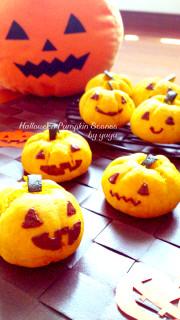 ハロウィンにも☆簡単かぼちゃスコーン。の写真