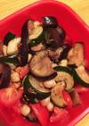 色々野菜とヒヨコ豆のマリネ