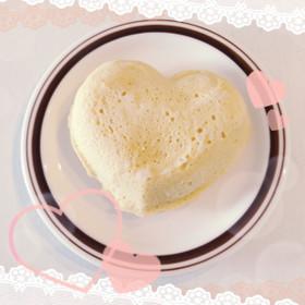 糖質制限☆レンジでプロテイン蒸しパン!