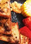 残り物の朝食 フレンチトーストプレート