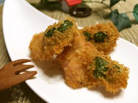 魚肉ソーセージ✿黒胡椒フライ