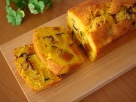 HMで作る☆かぼちゃの簡単パウンドケーキ