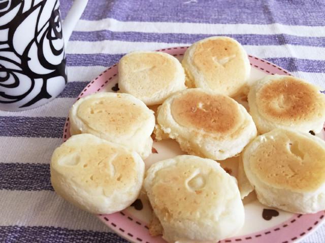 フライパンで豆腐の米粉クッキー