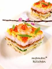 ひな祭りに☆ちらし寿司の写真