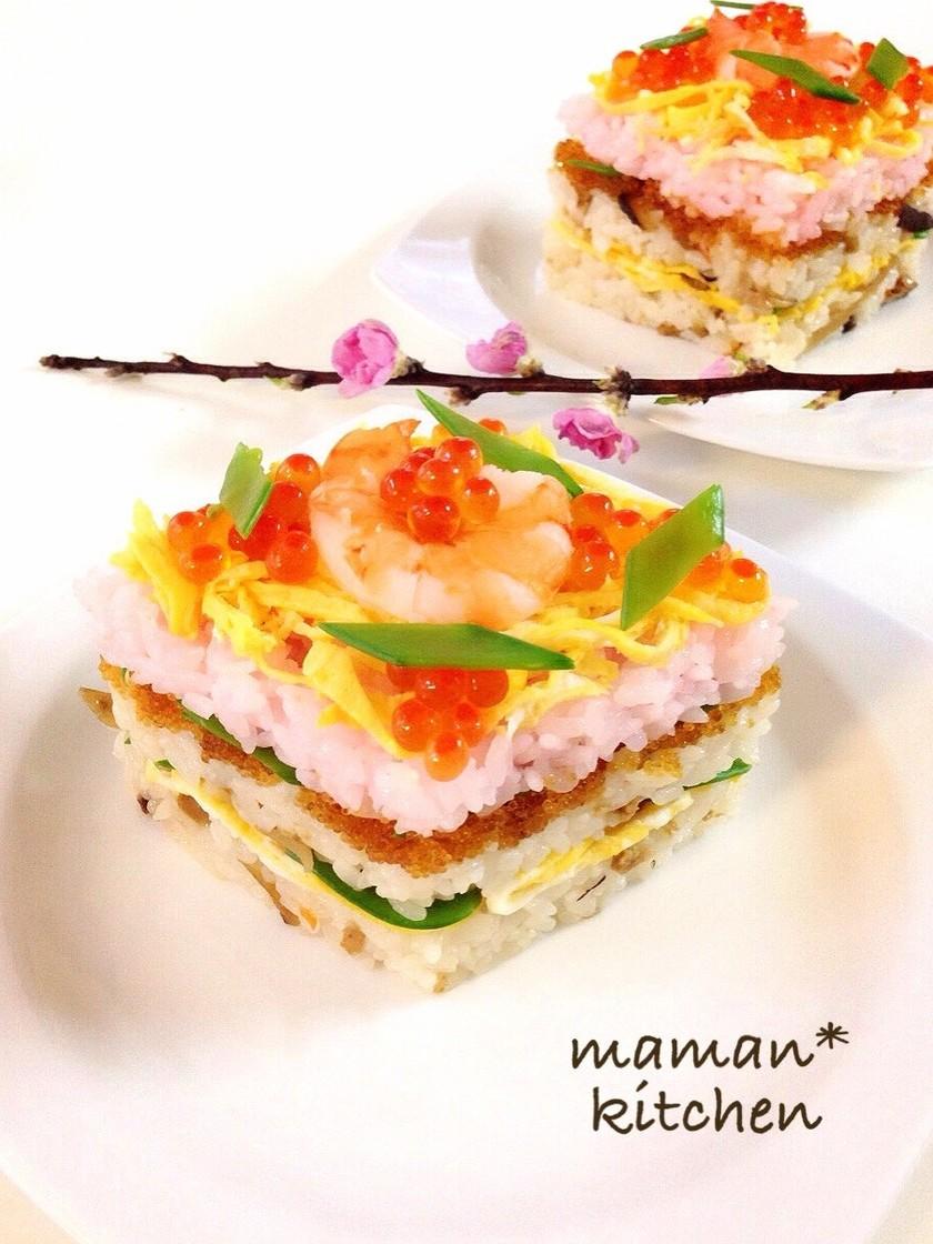 ひな祭りに☆ちらし寿司