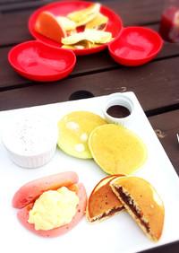 カラフルパンケーキ
