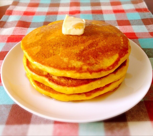 NYのカフェ風♪パンプキンパンケーキ