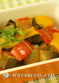 たっぷり野菜のうまみで煮込むラタトゥイユ