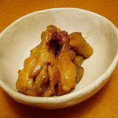 圧力鍋で≪手羽元とごぼうの煮物≫