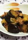 豚バラと長茄子の辛味噌炒め