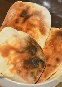 東芝の石窯ドームで焼くナーン風ローティー