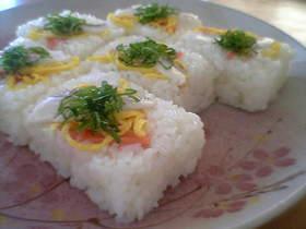 お祝いに♪簡単押し寿司