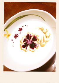 ヨーグルトアート〜お花