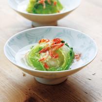 白菜の豆腐蒸し