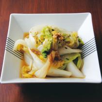 白菜のふりかけ蒸し焼き