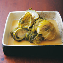 白菜の豆腐ロール煮