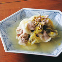 白菜と豚肉の簡単煮物