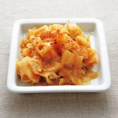 削りレンコンのレンジでキンピラ
