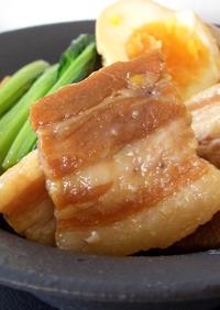 茹で塩豚で角煮