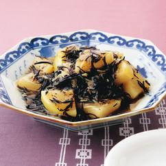 ヒジキと大根、ホタテの煮物