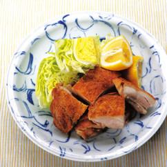 鶏モモ肉のこんがり焼き