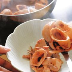 イカとサトイモの煮物