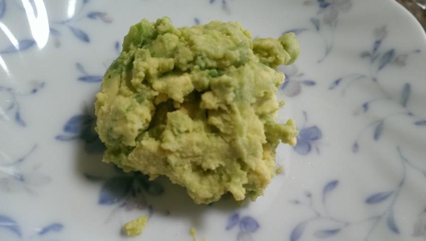 アボカドと黄身のディップ*離乳食中期~