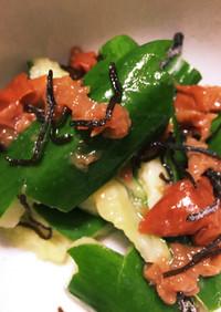 簡単☆たたき胡瓜の梅肉和え、小鉢つまみに