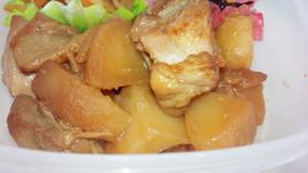 とりももとジャガイモの生姜煮