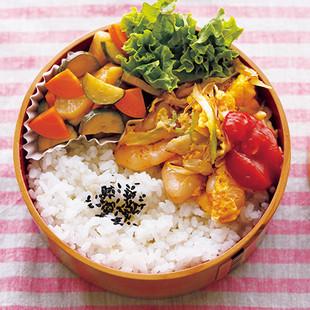 えび玉炒め弁当