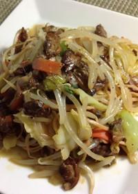 【昼食】お手軽、燻製アサリと野菜のパスタ