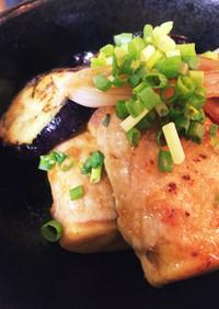 高野豆腐の豚肉巻きと野菜の甘酢☆絶品♡