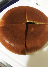 HMと炊飯器で簡単紅茶シフォンケーキ